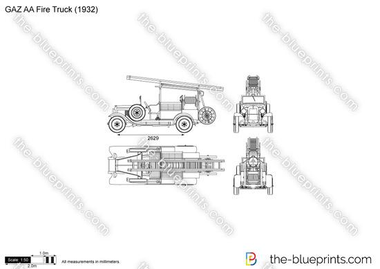 GAZ AA Fire Truck
