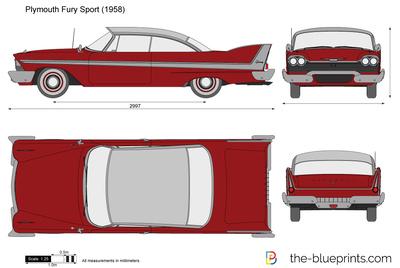 Plymouth Fury Sport (1958)