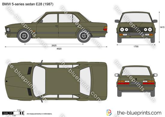BMW 5-series sedan E28