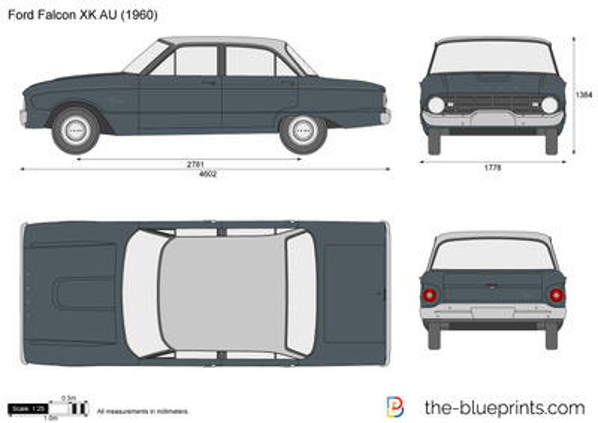 Ford Falcon XK AU