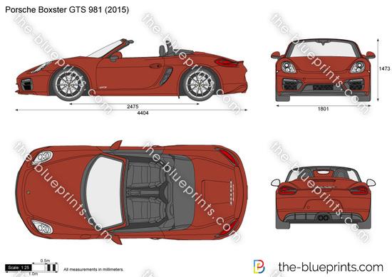 Porsche Boxster GTS 981