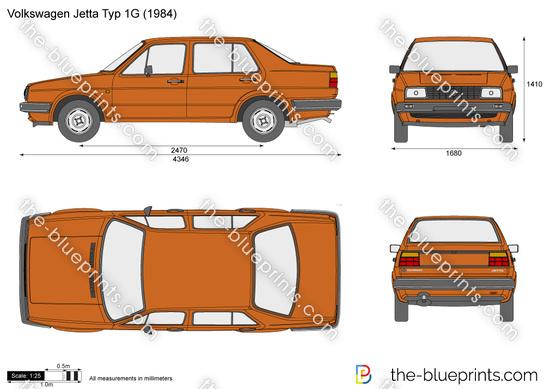 Volkswagen Jetta Typ 1G