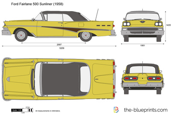 Ford Fairlane 500 Sunliner