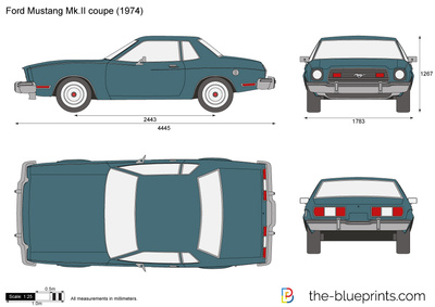 Ford Mustang Mk.II coupe
