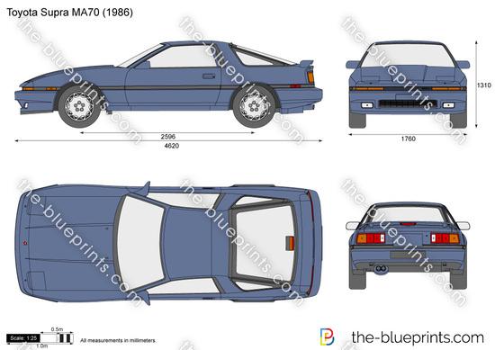 Toyota Supra MA70