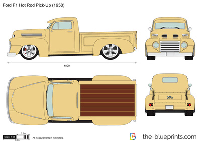 Ford F1 Hot Rod Pick-Up