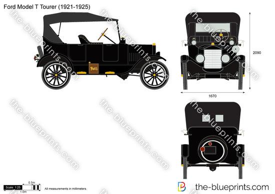 Ford Model T Tourer (1921-1925)