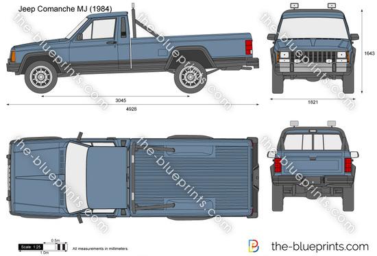 Jeep Comanche MJ