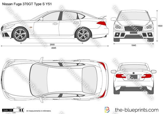Nissan Fuga 370GT Type S Y51
