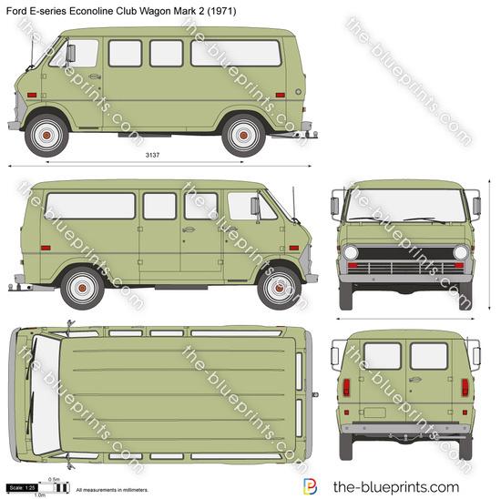Ford E-series Econoline Club Wagon Mark 2