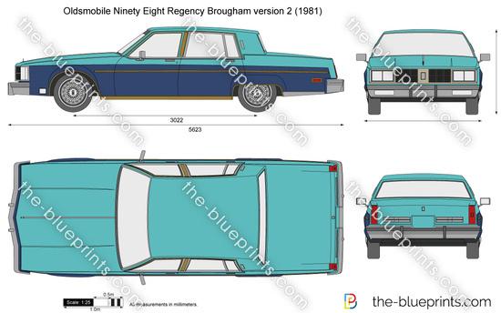 Oldsmobile Ninety Eight Regency Brougham version 2