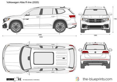 Volkswagen Atlas R-line (2020)