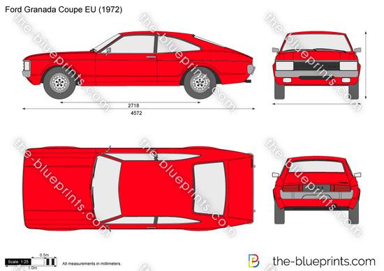 Ford Granada Coupe EU