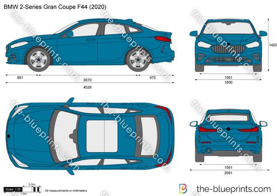 BMW 2-Series Gran Coupe F44