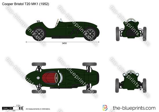Cooper Bristol T20 MK1