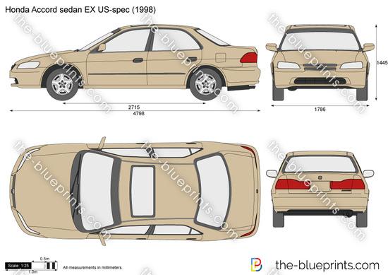 Honda Accord sedan EX US-spec