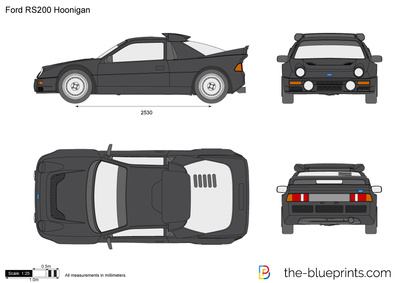 Ford RS200 Hoonigan
