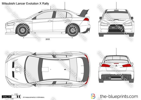 Mitsubishi Lancer Evolution X Rally