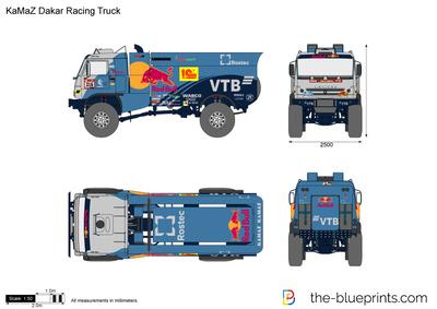 KaMaZ Dakar Racing Truck