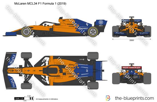 McLaren MCL34 F1 Formula 1