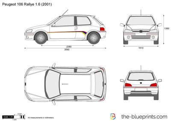 Peugeot 106 Rallye 1.6