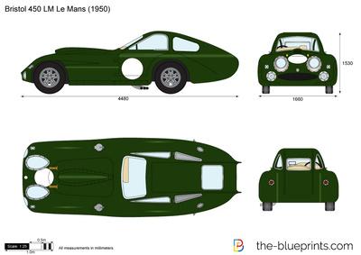 Bristol 450 LM Le Mans
