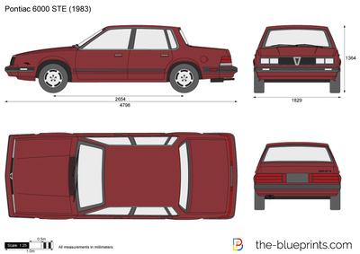 Pontiac 6000 STE (1983)