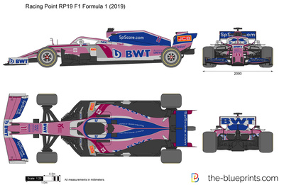 Racing Point RP19 F1 Formula 1