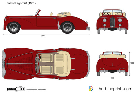 Talbot Lago T26