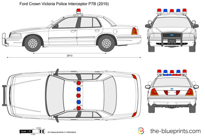 Ford Crown Victoria Police Interceptor P7B