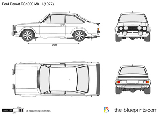 Ford Escort RS1800 Mk. II