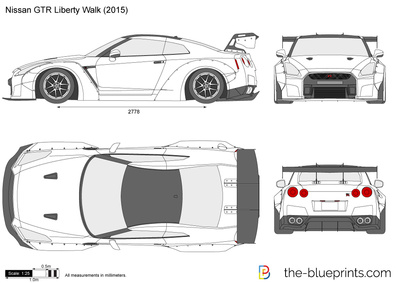 Nissan GTR Liberty Walk
