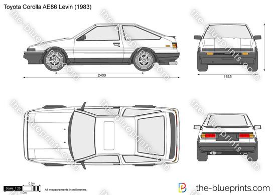 Toyota Corolla AE86 Levin