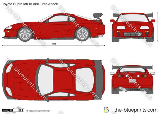 Toyota Supra Mk.IV A80 Time Attack