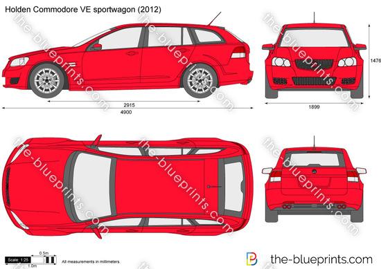 Holden Commodore VE sportwagon