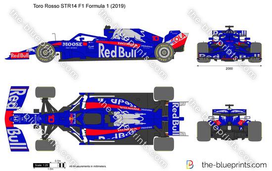 Toro Rosso STR14 F1 Formula 1