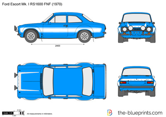 Ford Escort RS1600 Mk. I FNF