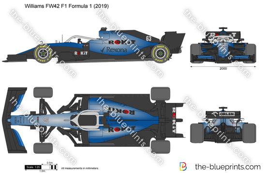 Williams FW42 F1 Formula 1