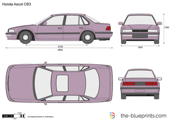 Honda Ascot CB3