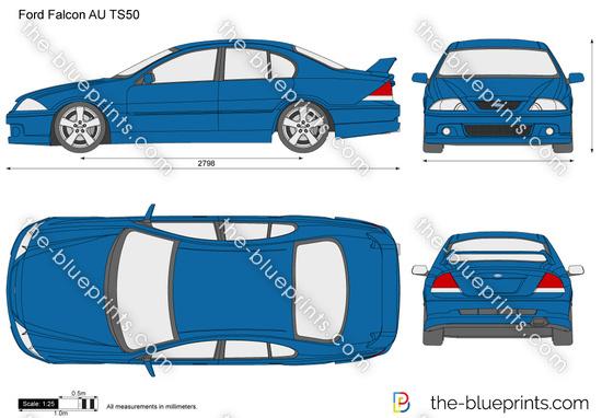 Ford Falcon AU TS50
