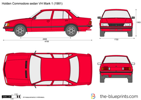 Holden Commodore sedan VH Mark 1