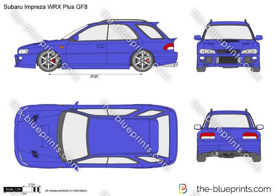 Subaru Impreza WRX Plus GF8