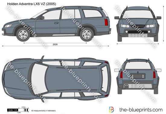 Holden Adventra LX6 VZ