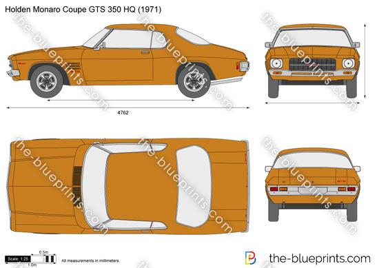 Holden Monaro Coupe GTS 350 HQ