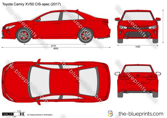Toyota Camry XV50 CIS-spec