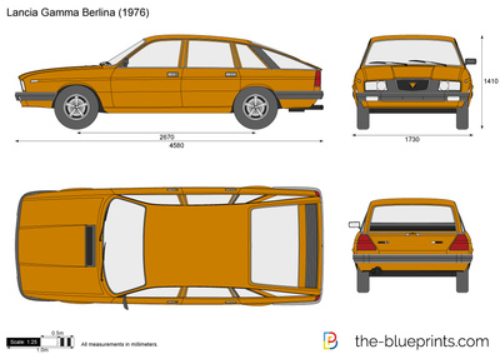 Lancia Gamma Berlina