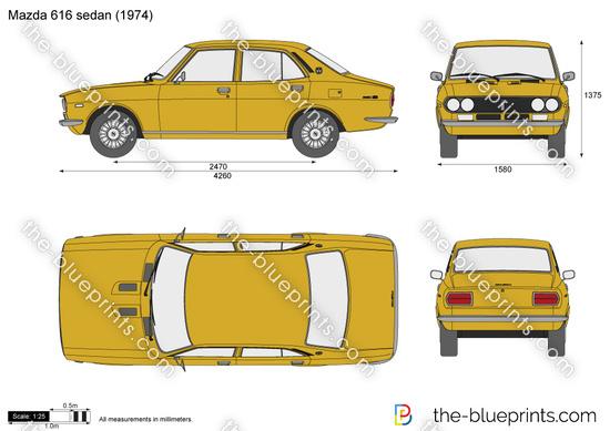 Mazda 616 sedan
