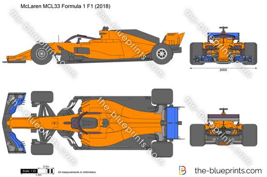 McLaren MCL33 Formula 1 F1