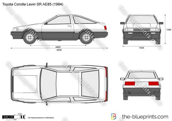 Toyota Corolla Levin SR AE85