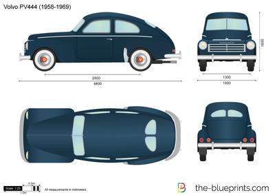 Volvo PV444 (1958)